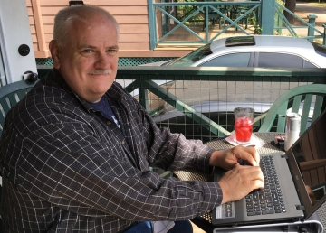 David Lee Crites at Writers Conference 2016